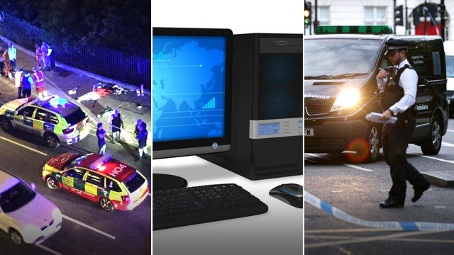 American woman butchered on London street, New CA computer regulations will cost $$$